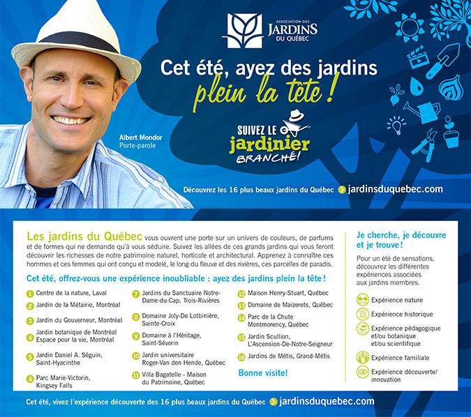 les Jardins du Québec | the Gardens of Quebec