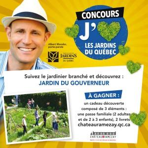 Du 26 juillet au 6 ao t 2016 concours j aime les jardins for Au jardin du gouverneur